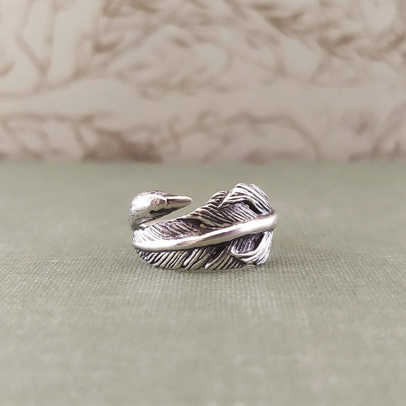Swan ring (made to order)