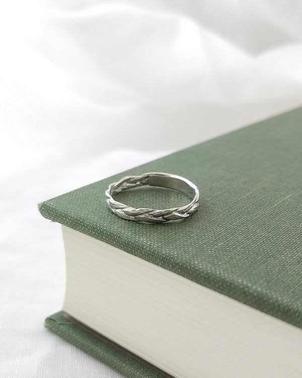 Braid ring - ready to ship