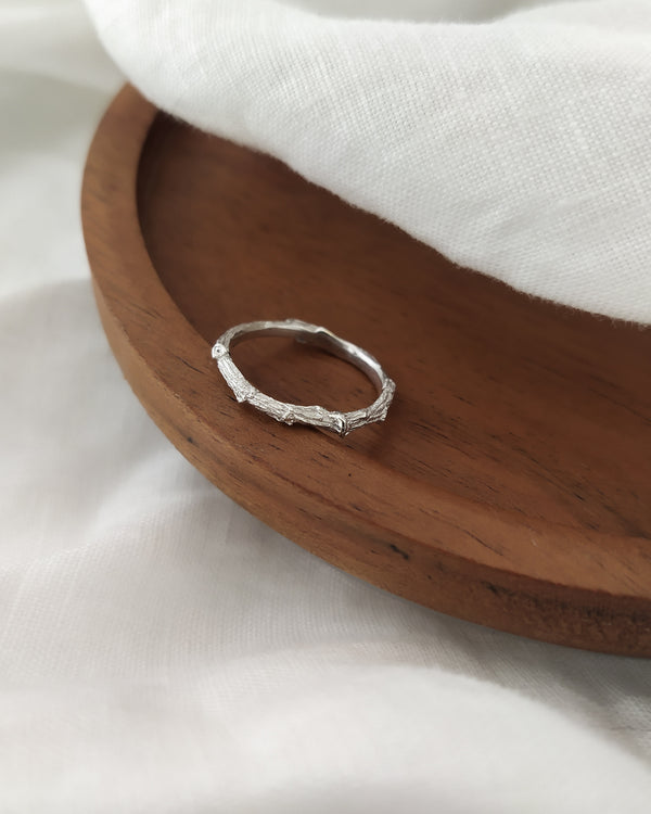 Twig ring - ready to ship
