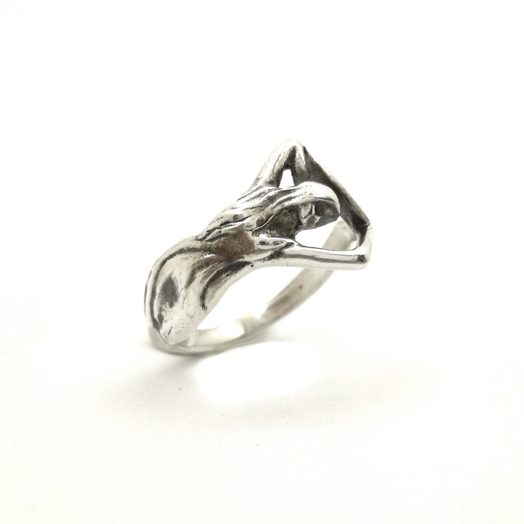 Harvest Moon Ring | Silver