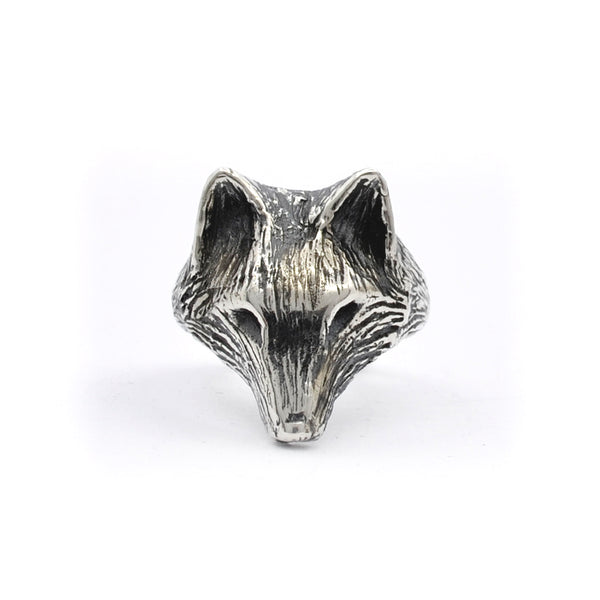 Wolf Ring | Silver