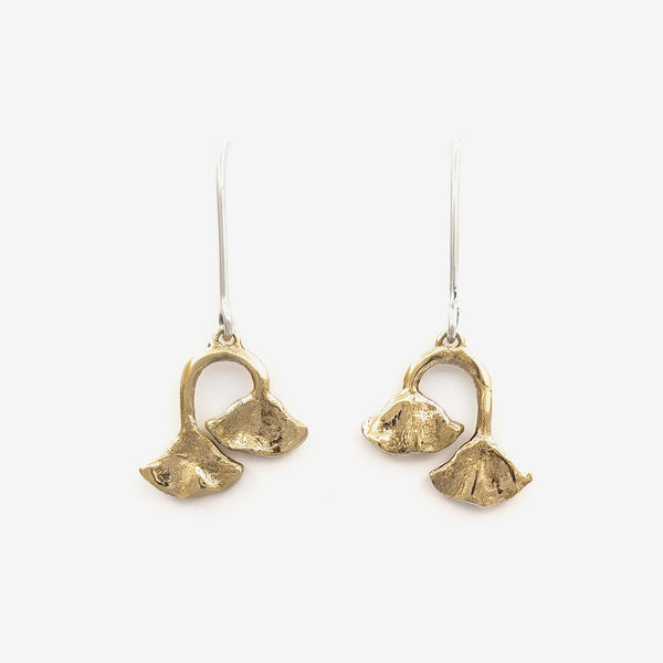 Duo lily pad drops | Bronze