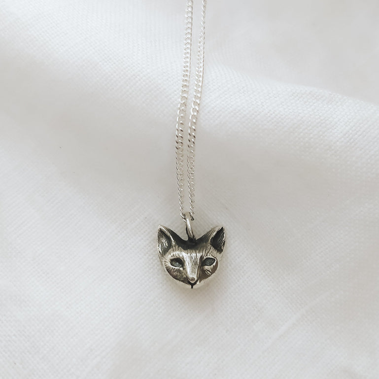 Cat pendant (made to order)