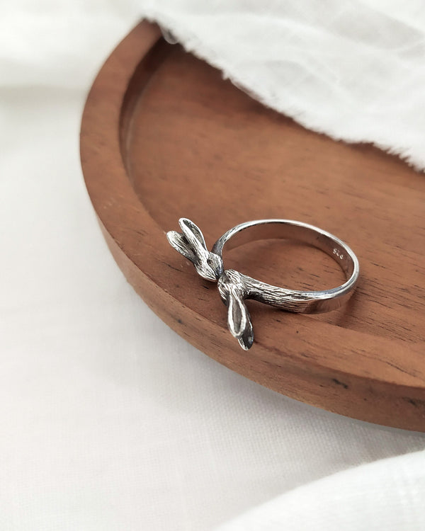 Hare ring - ready to ship