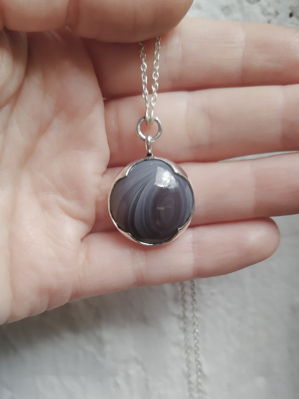 Saturn pendant - ready to ship