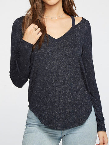 Chaser Diamond Vented Shoulder Top