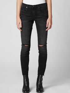 Black Nyc Superwoman Midrise Jeans