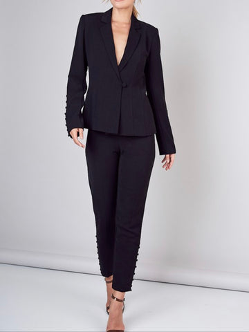 Tracy One Button Blazer