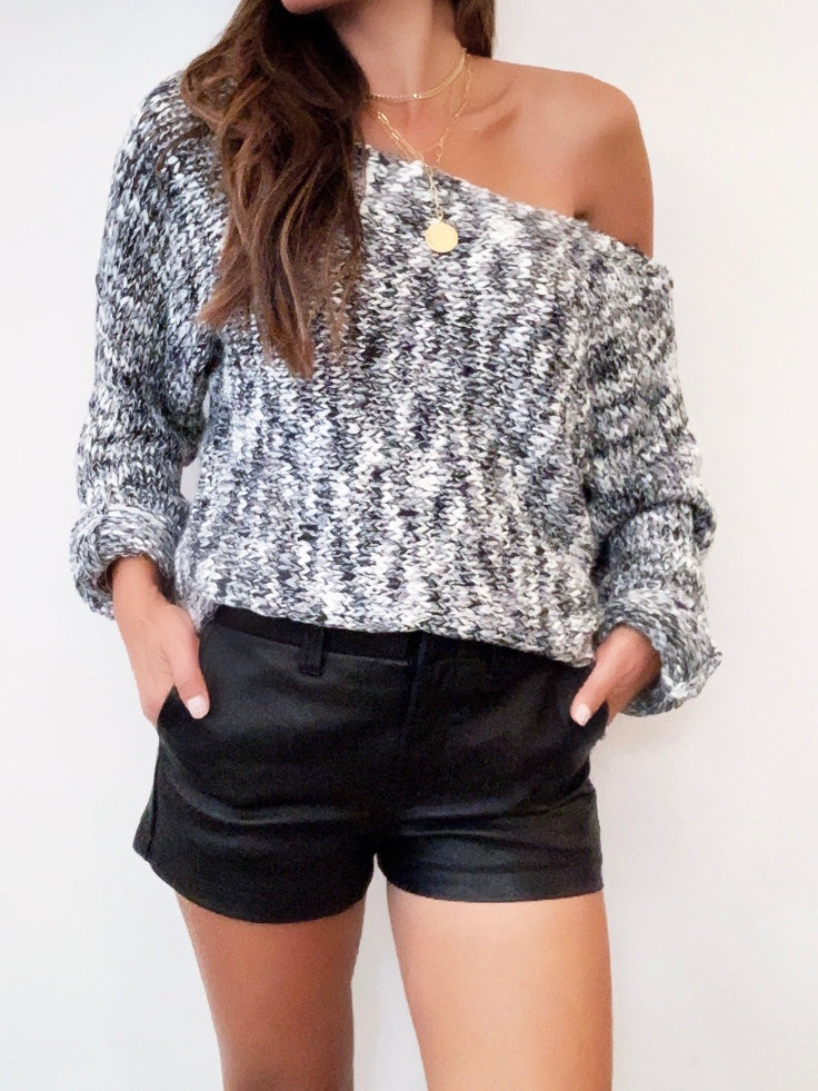 Jacqui Off Shoulder Knit