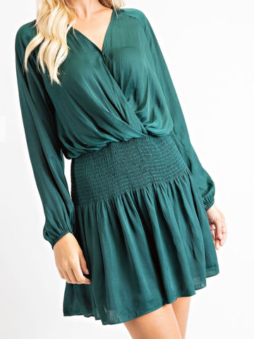 Kerri Smock Waist Dress