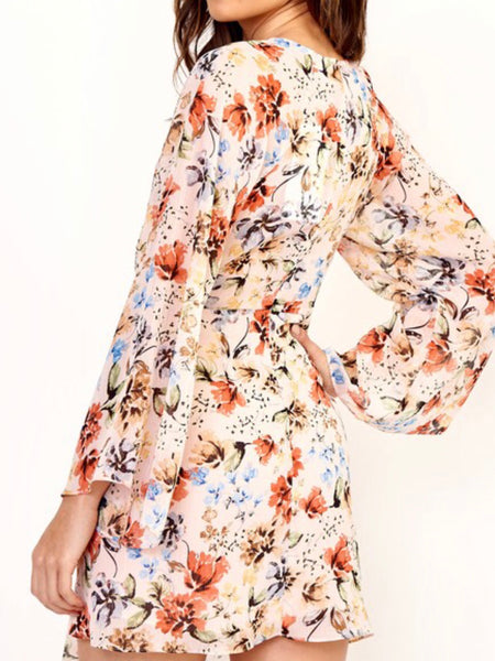 Shannon Floral Chiffon Dress