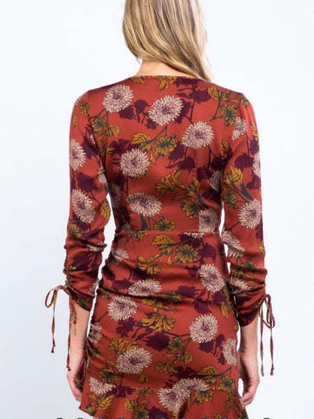 Heidi Ruffle Floral Dress