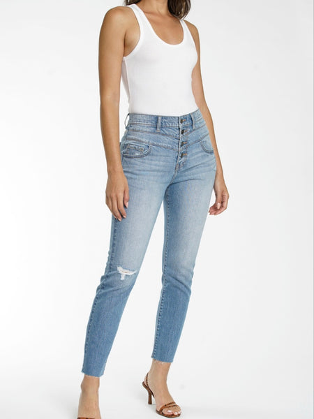 Pistola Felix High Rise Double Yoke Mom Jeans