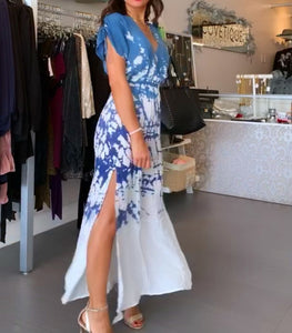 Lulu Tie Dye Maxi Dress