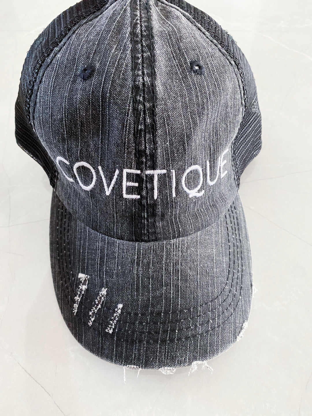 COVETIQUE DENIM CAP