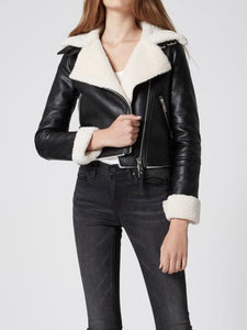 Silent Night Faux Fur Jacket