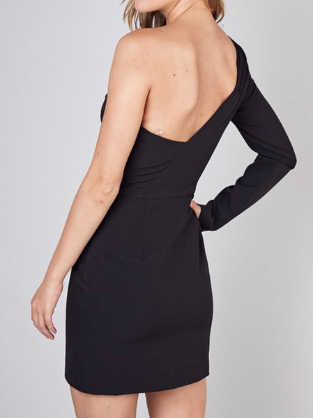 Renee One Shoulder Dress