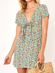 Emily Tie Front Dress