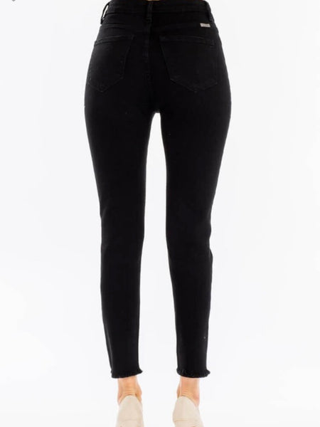 Riley Highrise Button Jeans