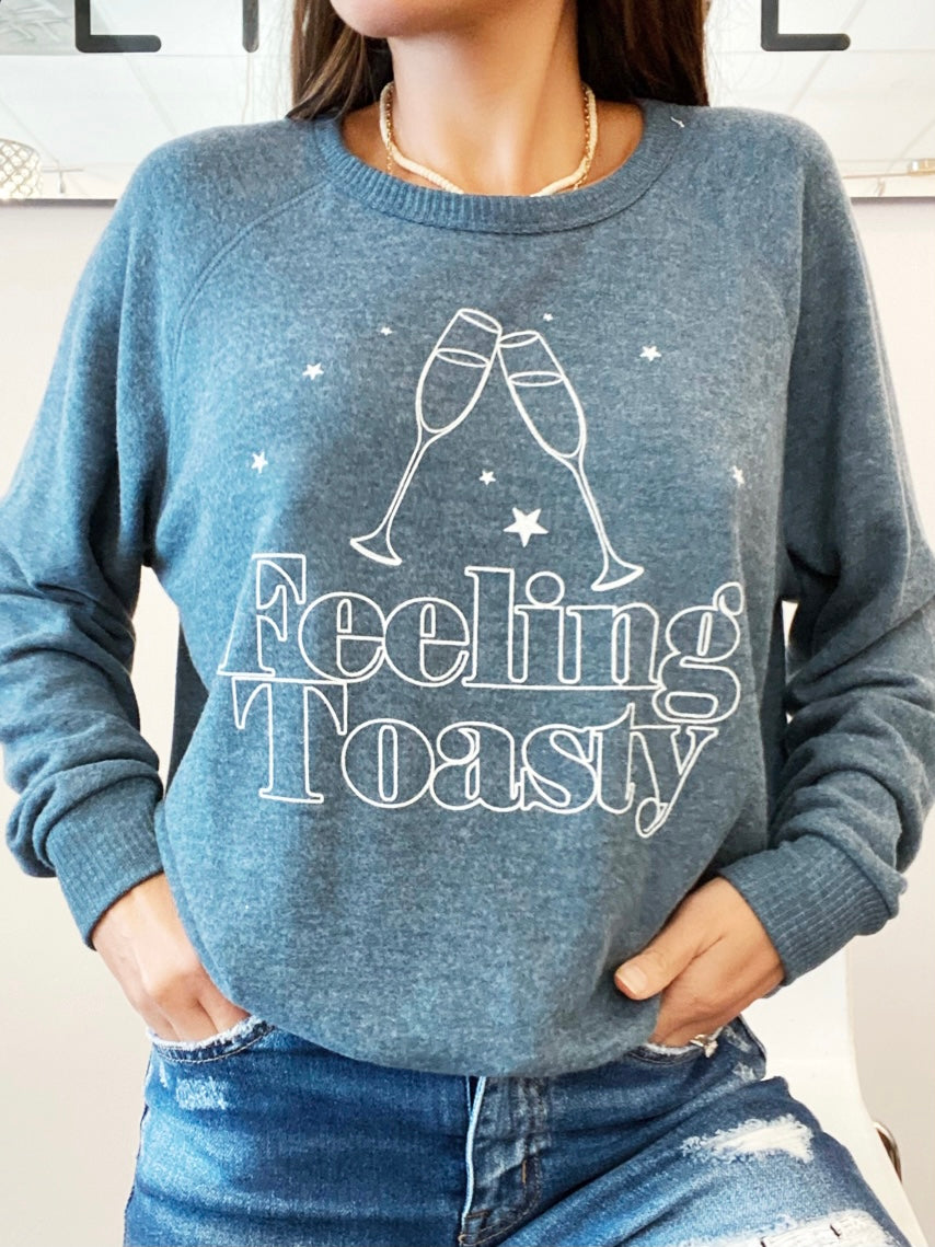 Project Social Feeling Toasty  Pullover