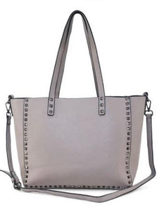 Studded Reversible Tote