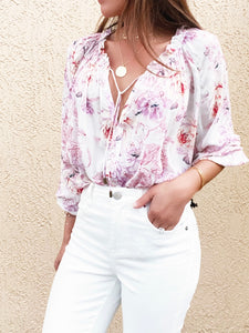 Summer Peasant Blouse