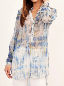 Maria Sheer Tunic/coverup