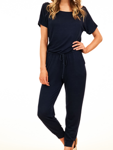 Veronica Off Shoulder Terri Jumpsuit