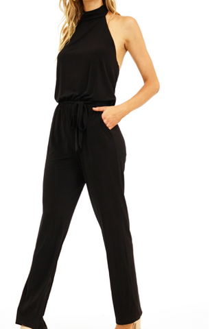 Veronica M Halter Neck Jumpsuit