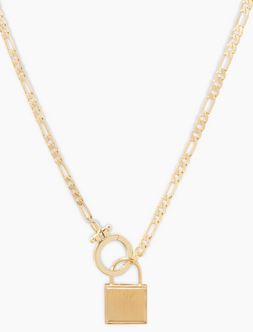 Gorjana Charlie Lock Necklace