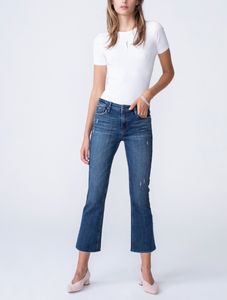 Moxie Cropped Flare Jeans