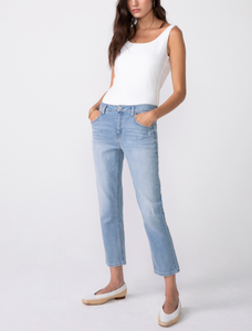 Hayden High-rise Cropped Girlfriend Jeans