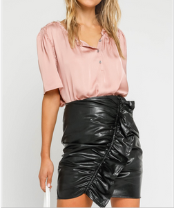 Trista Satin Blouse