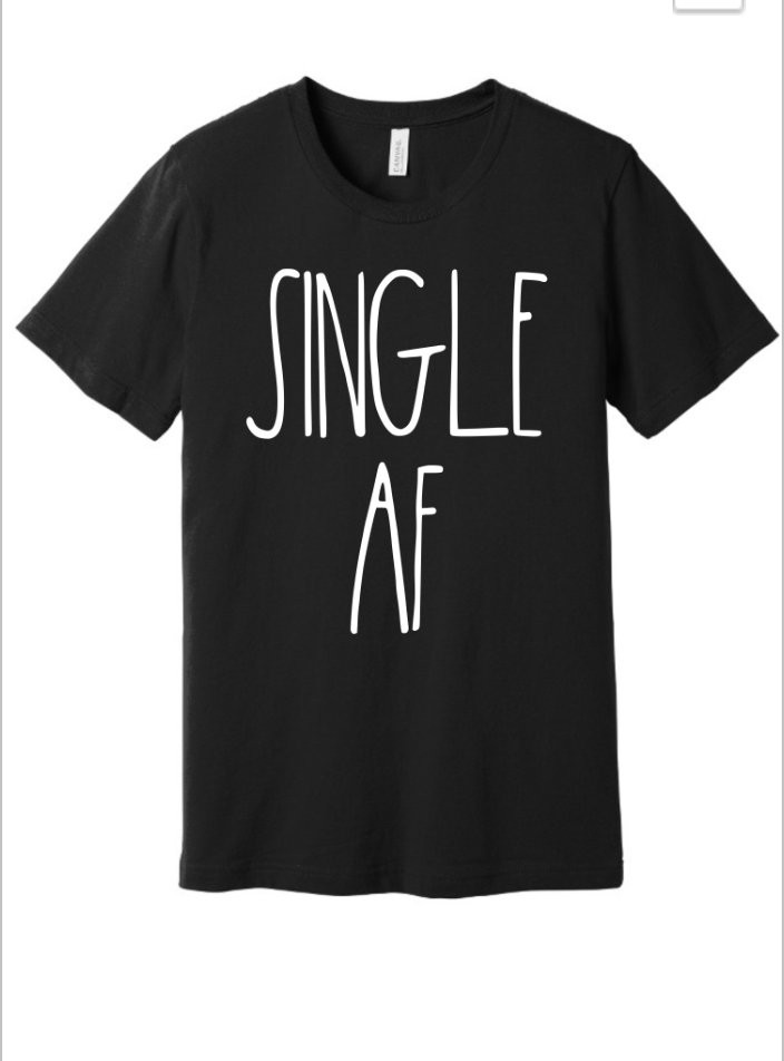 Single AF Graphic Tee