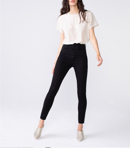 Unpublished Ella Highrise Button Fly Jeans