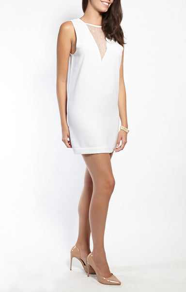 Lace Insert Shift Dress - SALE