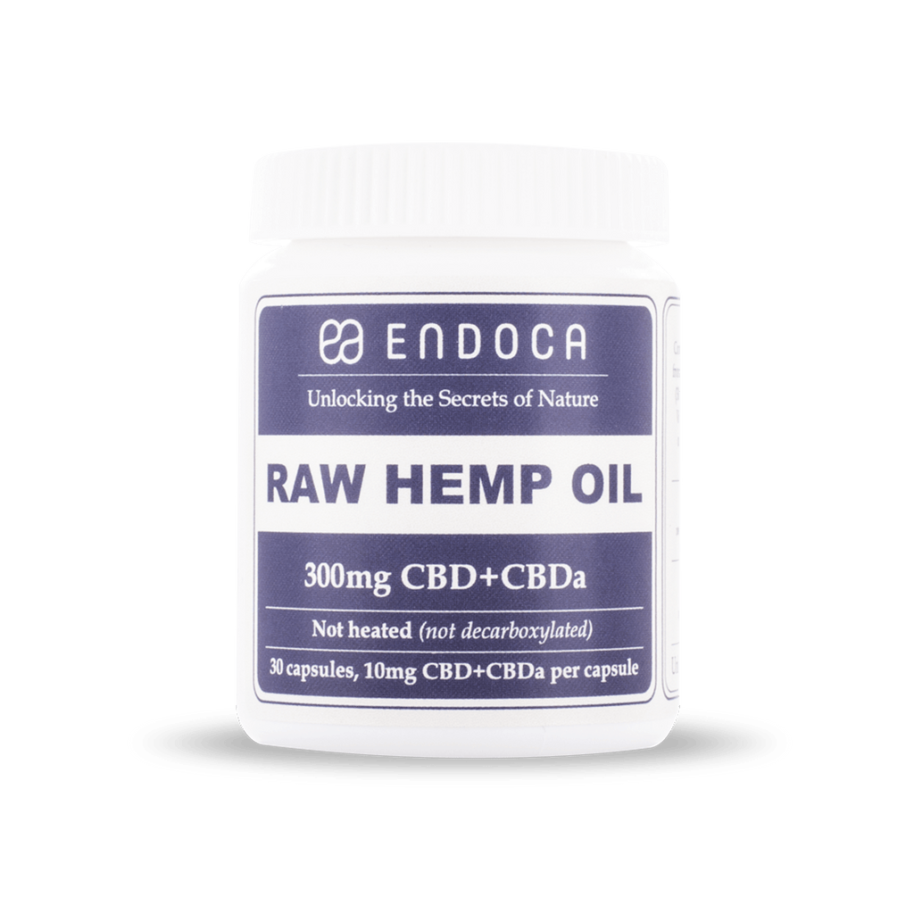 Капсульні масла капсули Endoca 300mg CBD