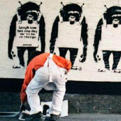 World-Class Graffiti Street Artist Banksy