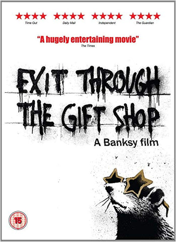 BANKSY GRAFFITI ARTIST EXIT THROUGH THE GIFT SHOP MOVIE