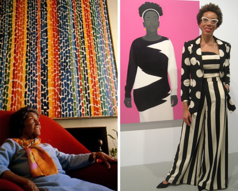 ARTISTS ALMA THOMAS AND AMY SHERALD