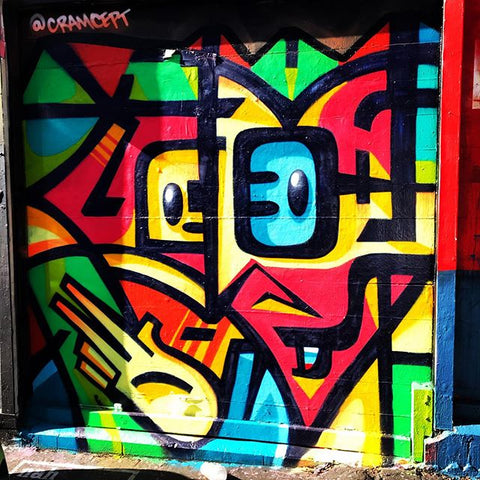 CRAMCEPT CRAM GRAFFITI ART