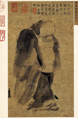 Immortal in Splashed Ink Chinese Ancient Art