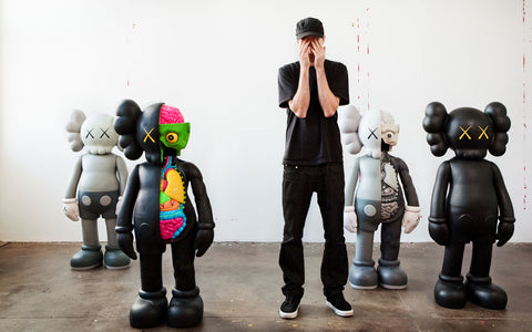 KAWS ART TOY CHARACTER SCULPTURES