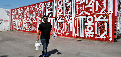 GRAFFITI ART RETNA