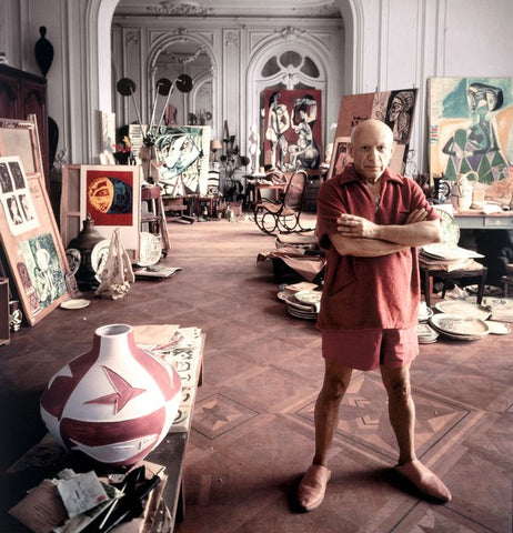 THE LIFE OF LEGENDARY ICONIC PABLO PICASSO ARTWORK