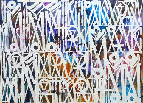 RETNA GRAFFITI ART PAINTING