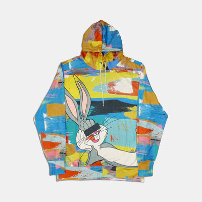 WEARABLE ART TANGO HOTEL XX DRINK BUNNY ALL OVER HOODIE