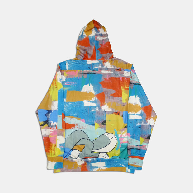TANGO HOTEL XX DRINK BUNNY ALL OVER HOODIE
