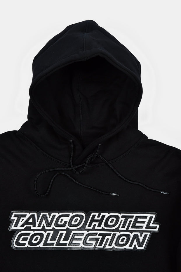 Tango Hotel Motorcross Heavy Weight Hoodie Trim View