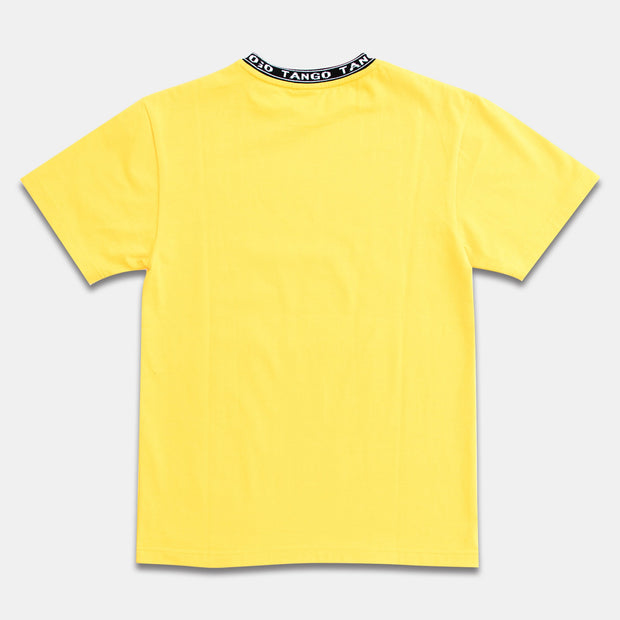 Tango Collar Yellow Tee Back View